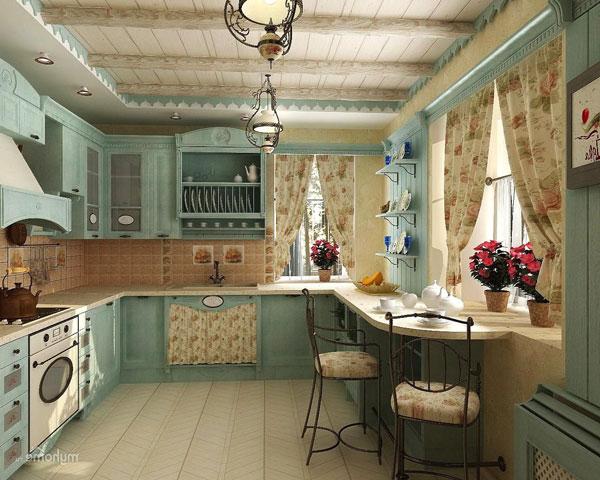 Прованс на кухне