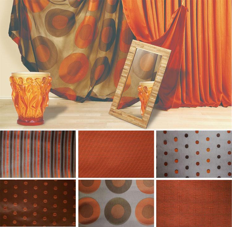 Текстиль в стиле Фьюжн