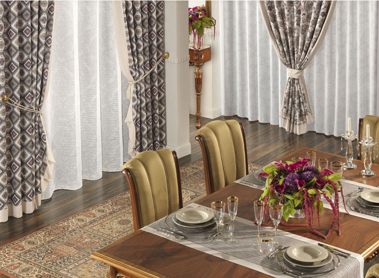 Декорирование гостиной -столовой