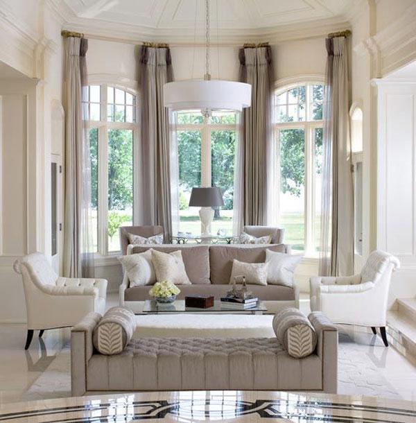 Элитные шторы в зал
