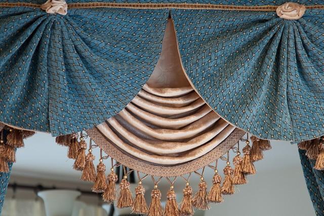 Оригинальный дизайн ламбрекена