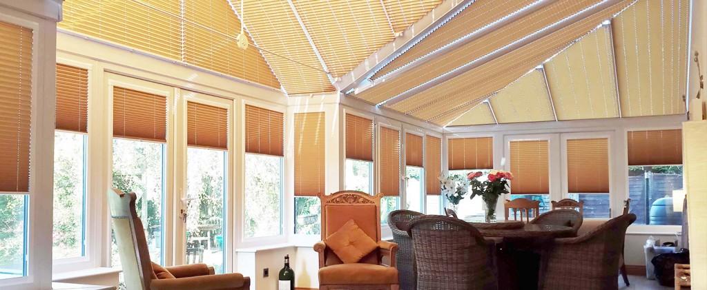 Неподвижные шторы плиссе