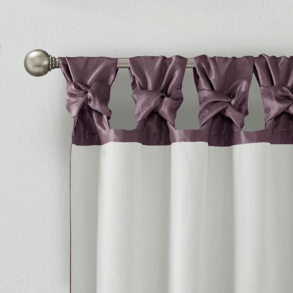 Банты на лентах для штор