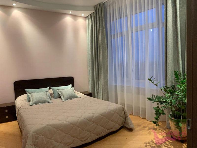 Текстильные изделия в спальне