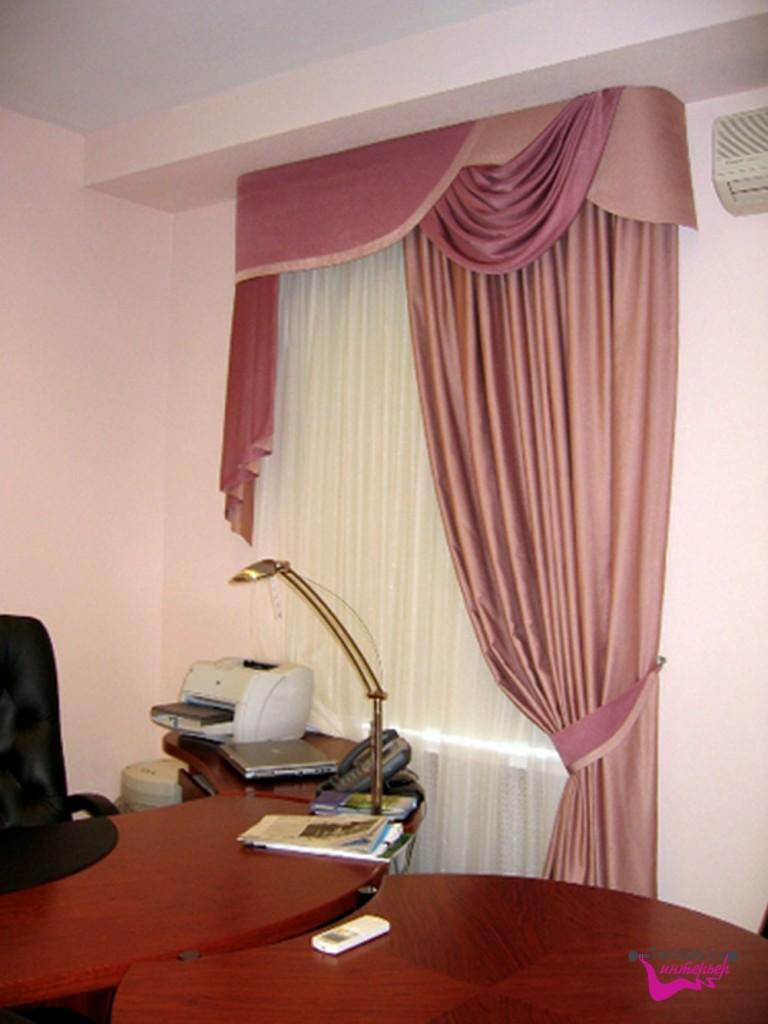 Оформление кабинета текстильными изделиями