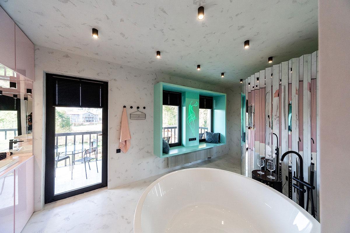Плиссе для ванной