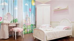 Оформление текстилем детской комнаты