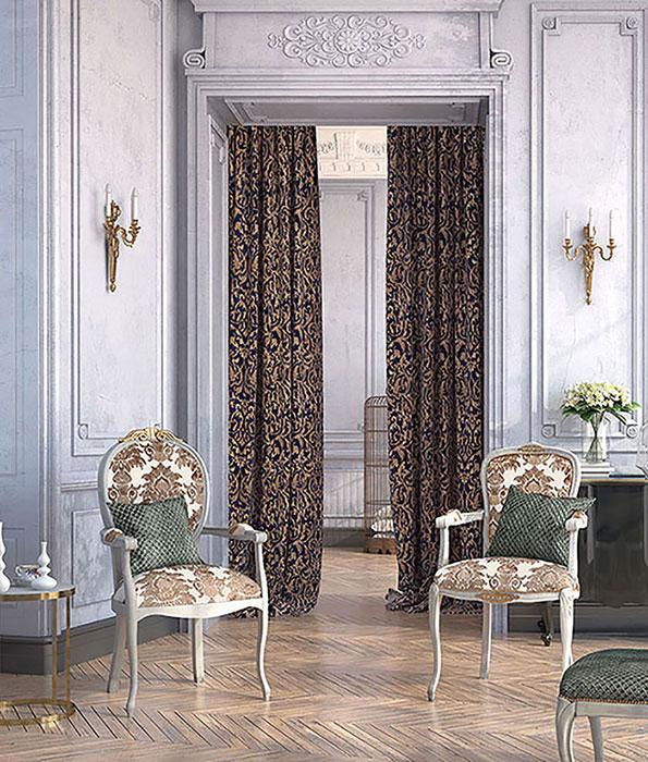 Современные элитные текстильные изделия в интерьере