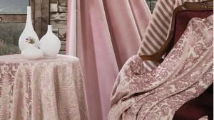 Ткани одной коллекции для декорирования интерьера домашним текстилем