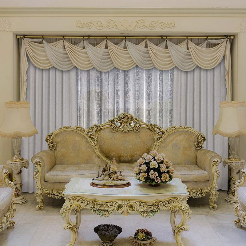 Элитные текстильные изделия в гостиную