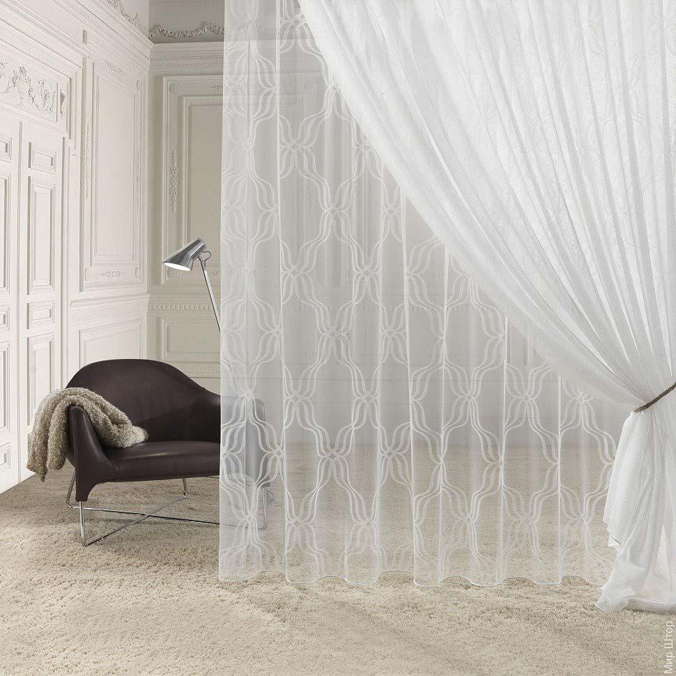 Прозрачные шторы