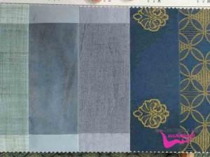 Ткань синего цвета