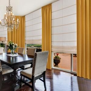 Современные шторы в столовую