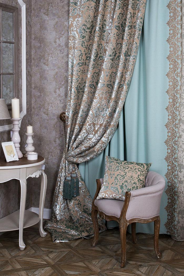 Элитные шторы в гостиную
