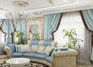 Пошив штор в стиле Классика
