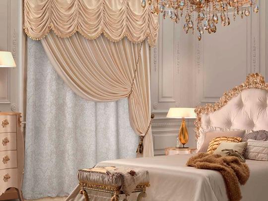 Элитные шторы для спальни