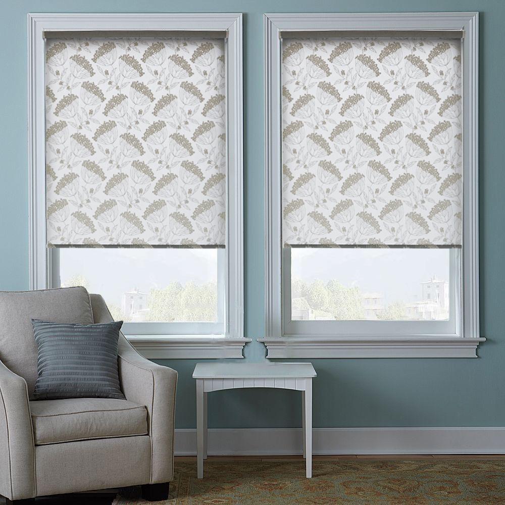 Рулонные шторы в стиле минимализм