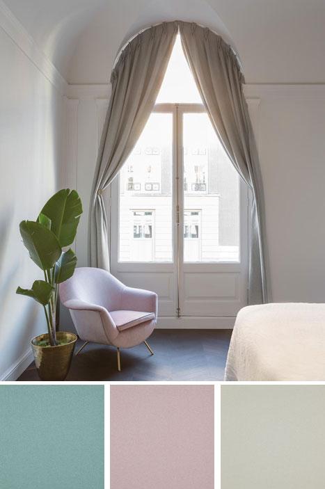 Изящная итальянская штора в современном дизайне
