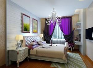 Тройные шторы для спальни