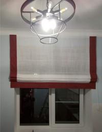Римские шторы слайдер