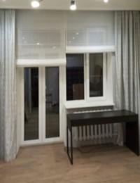 Рулонные шторы в кабинет слайдер