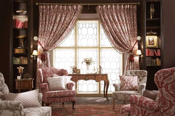 Текстильные изделия для кабинета