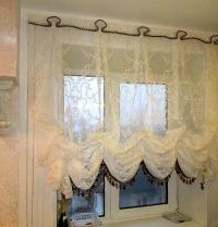 Пошив и дизайн штор на кухню