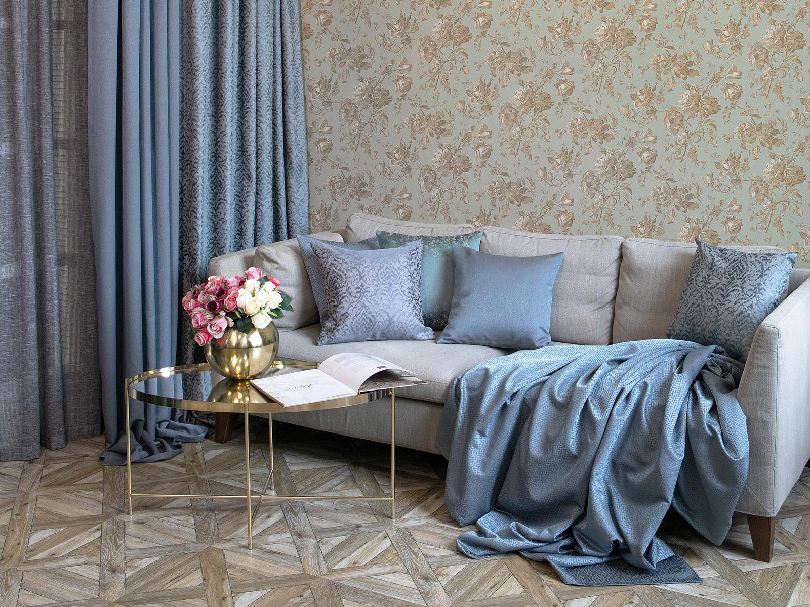 Пошив штор из современных тканей