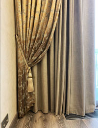 Современные классические шторы