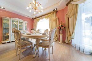 Гостиная, оформлена в классическом стиле